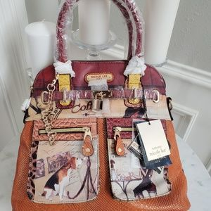 NWT Nicole Lee Large Designer Collectible Tote